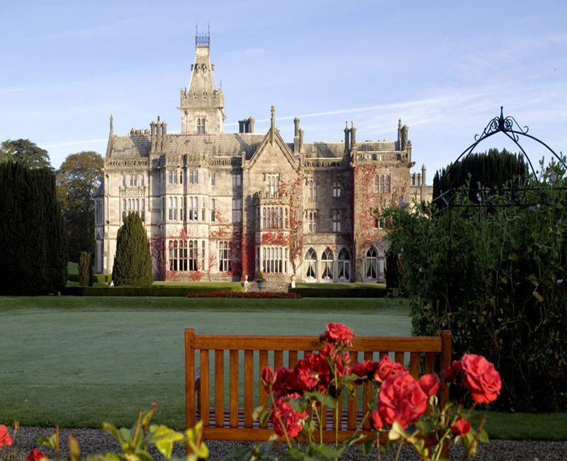 Adare Manor looks forward to welcoming guests back on 2nd November 2017